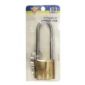 コーナン オリジナル 真鍮南京錠 つる長 38mm EKM03−0746