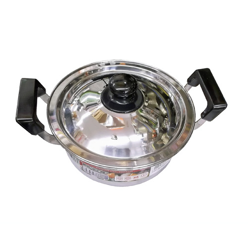 コーナン オリジナル ステンレス鍋 18cm KHD05−2374