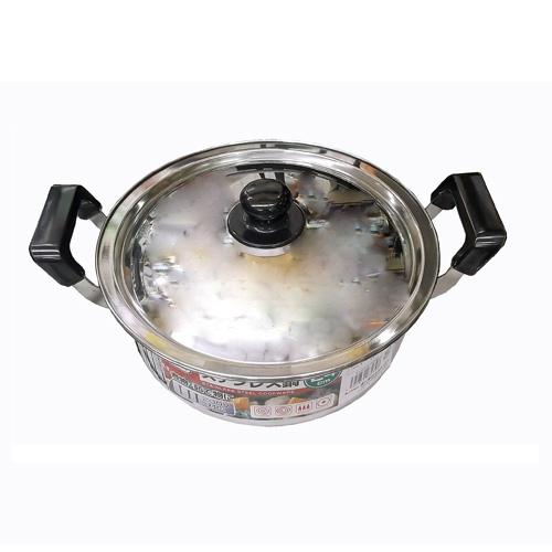 コーナン オリジナル ステンレス鍋 24cm KHD05−2398