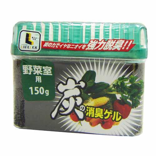 コーナン オリジナル 炭の消臭ゲル 野菜室用 150g
