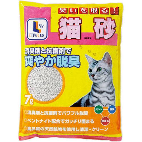 コーナン オリジナル 臭いを取る猫砂 7L KJ12−2960