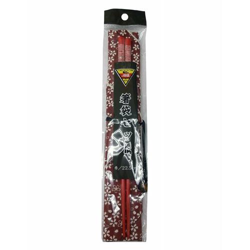 コーナン オリジナル 箸袋セット 赤 C−0466R−6