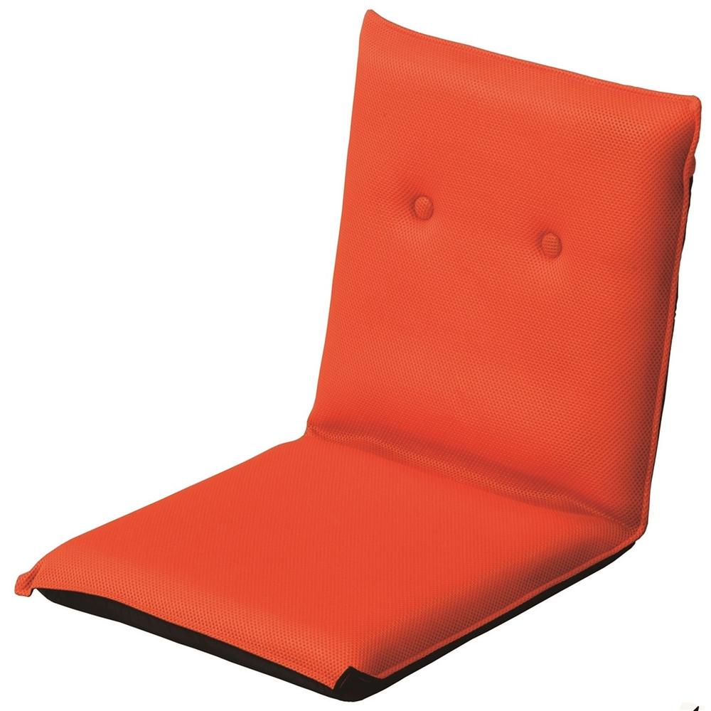 コーナン オリジナル メッシュ座椅子 オレンジ KOH06−0787