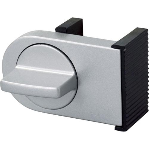 コーナン オリジナル サッシ用補助錠 シルバー LFX03−HJ01SL