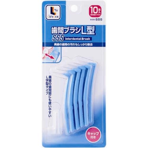 ※※コーナン オリジナル 歯間ブラシ L型 10本入 SSS