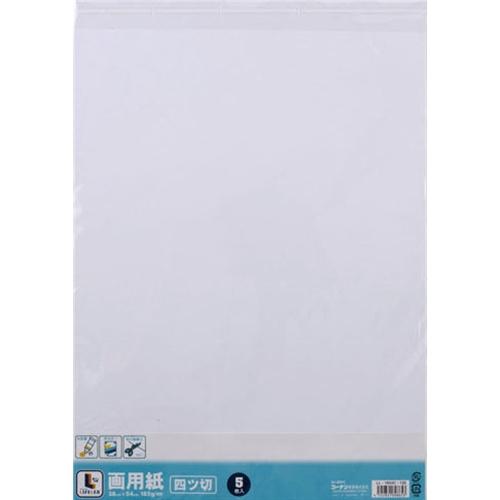 コーナン オリジナル 画用紙 四つ切 5枚入り LL−1854C−120
