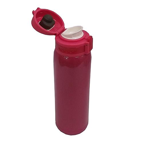 コーナン オリジナル 超軽量ワンタッチマグボトル 480ml ルビーレッド KFY05−8602