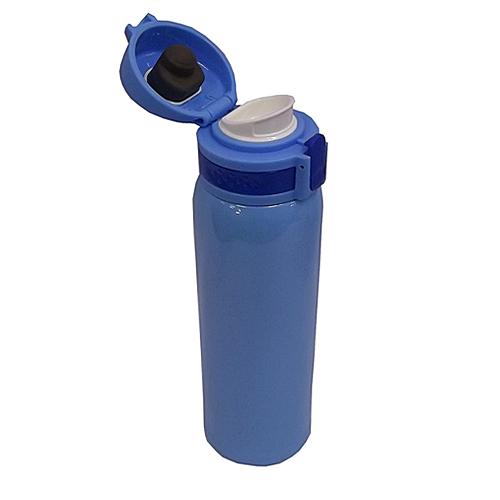 コーナン オリジナル 超軽量ワンタッチマグボトル 480ml スカイブルー KFY05−8619