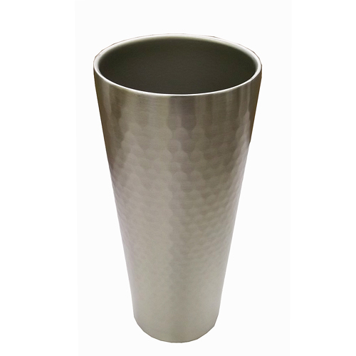 コーナン オリジナル 槌目真空断熱コップ 420ml