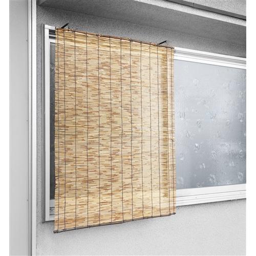 コーナン オリジナル 丸竹炭化すだれ 約74×90cm