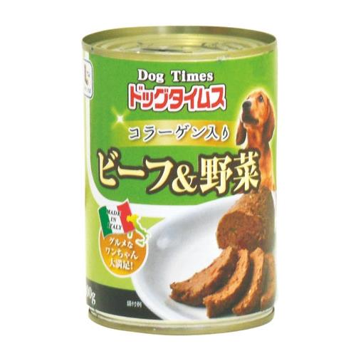 コーナン オリジナル ドッグタイムス缶 ビーフ&野菜 400g
