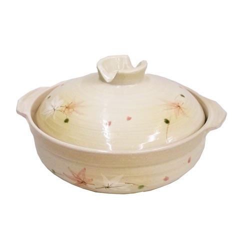 コーナン オリジナル 土鍋 もみじ 8号 KFY05−0343