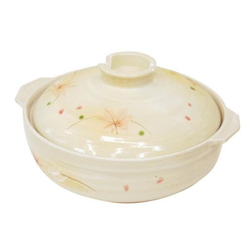 コーナン オリジナル 土鍋 もみじ 10号 KFY05−0367