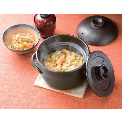 コーナン オリジナル レンジで炊ける炊飯鍋2合炊き KFY05−1029