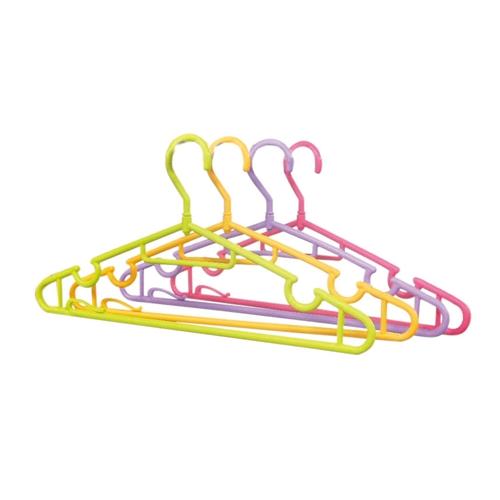 コーナン オリジナル カラフル首振りハンガー 10P GP21−3252