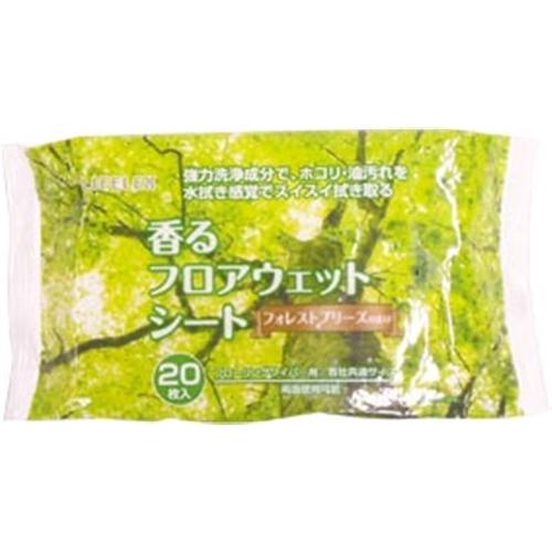 コーナン オリジナル 香るフロアウェットシート フォレストブリーズの香り KHS21−3559