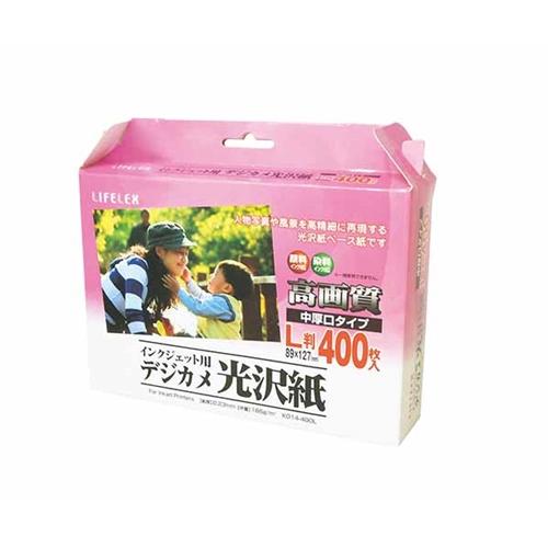 コーナン オリジナル 光沢紙L判 400枚 KO14−400L