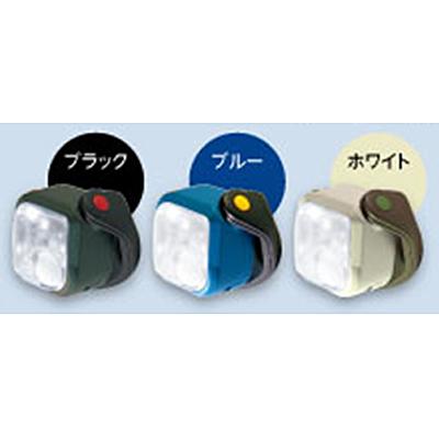 コーナン オリジナル マグにゃっとセンサーライト ブルー 乾電池式 1WLED