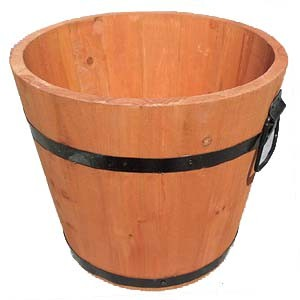 コーナン オリジナル 杉製深桶型プランター 外径約Ф33×高さ28cm