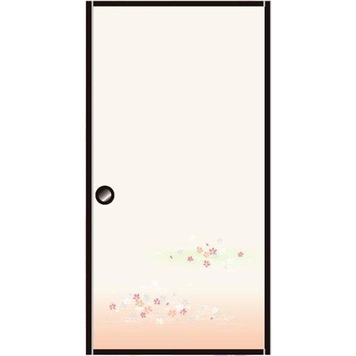 粘着襖紙「欄漫」 約95cm×185cm 1枚入 KN−232