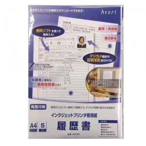IJ履歴書A4 EJP001