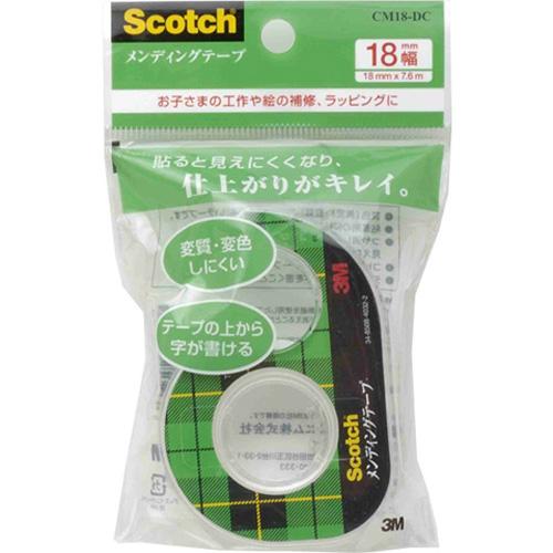 3M スコッチ メンディングテープ 18mm×7.6m CM18−DC
