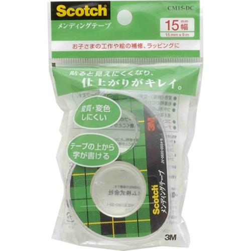 3M スコッチ メンディングテープ 15mm×9m CM15−DC