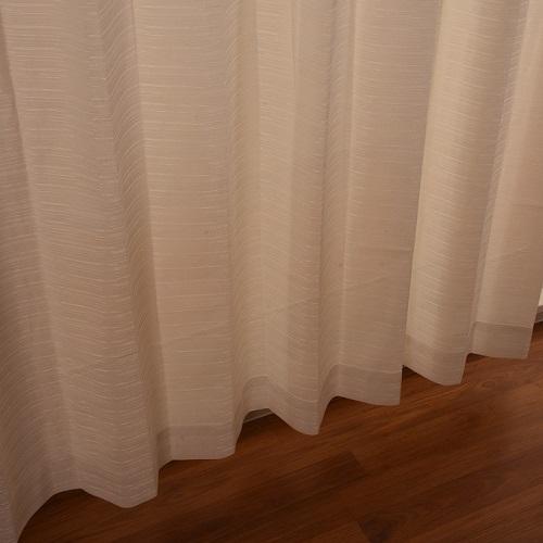 レースカーテン ブラットレース 2枚組 幅100×高さ176cm ホワイト