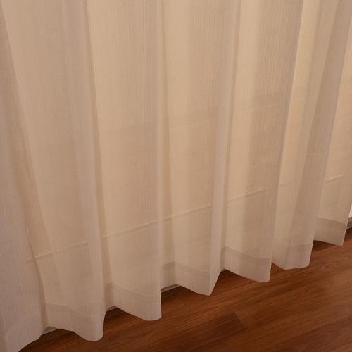 レースカーテン ポップレース 2枚組 幅100×高さ133cm アイボリー