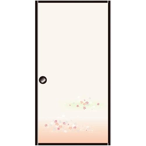 ○アイロンふすま紙「欄漫」 約95×185cm 2枚入り KH−5002
