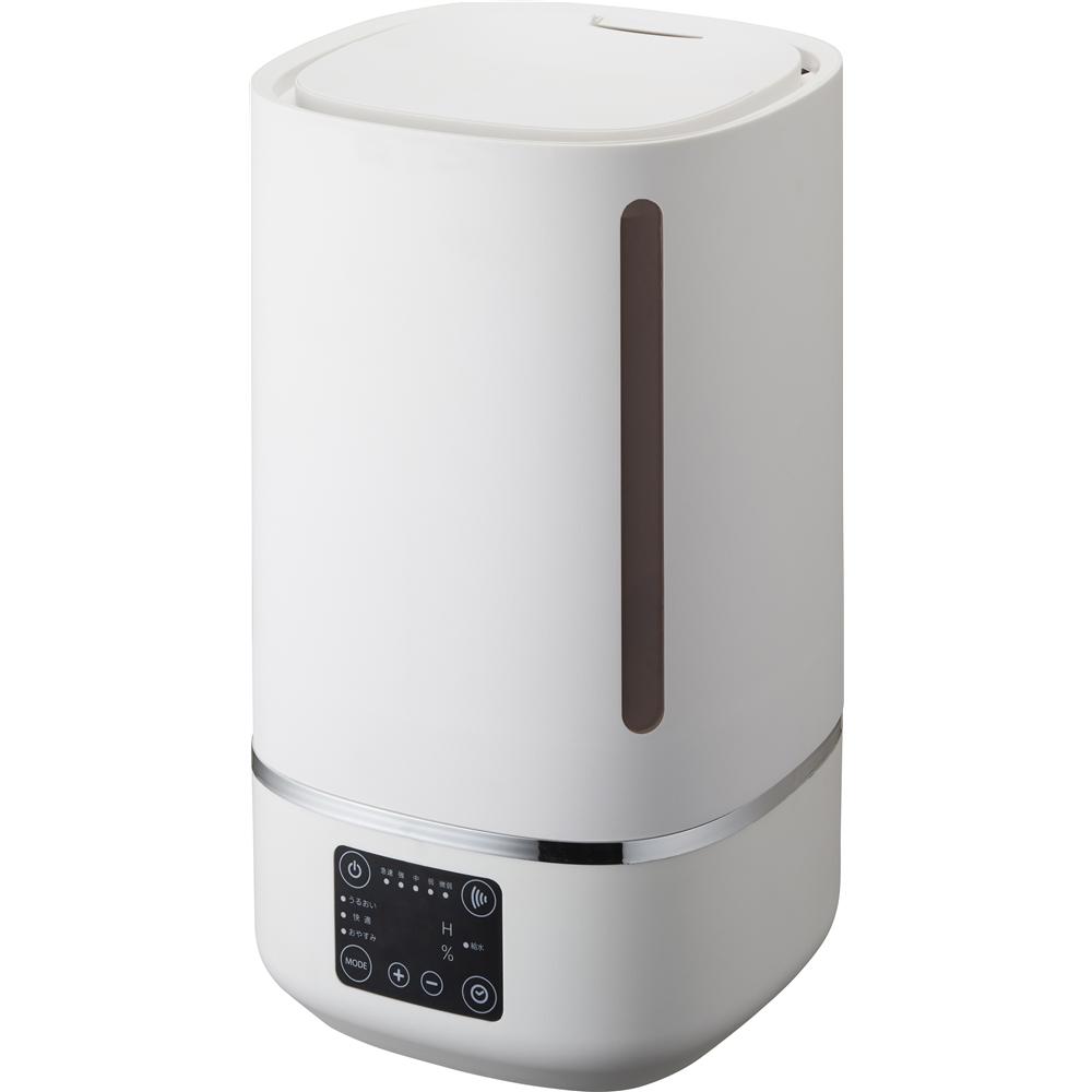 コーナン オリジナル 湿度表示超音波加湿器 KKWT−401WH