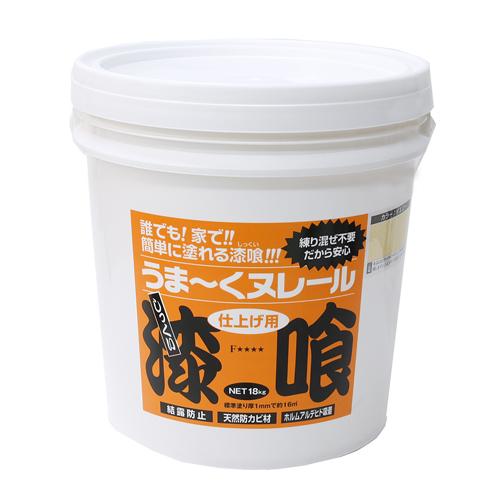 日本プラスター うま〜くヌレール 18kg イエロー 12UN28
