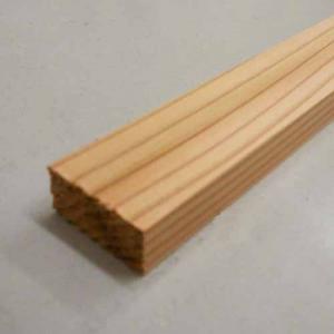 杉仕上げ材 約14×30×1950mm ×10本セット