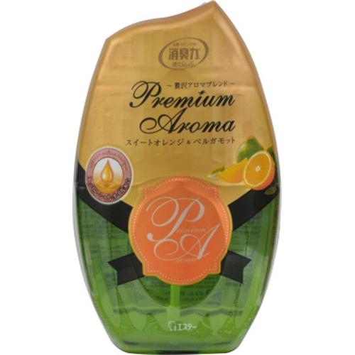 お部屋の消臭力 Premium Aroma スイートオレンジ&ベルガモット 400ml