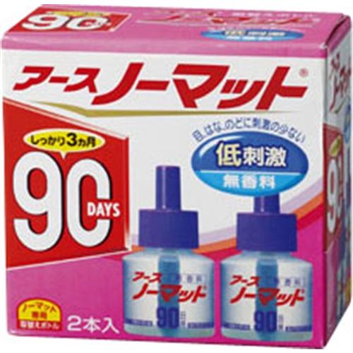 アースノーマット 90日用 無香料 とりかえ用 45ml×2本