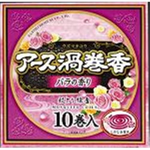 アース渦巻香 バラの香り 10巻函入