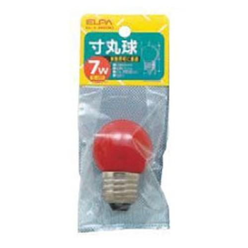 寸丸球2C 7W 赤 G−13H(R) E26
