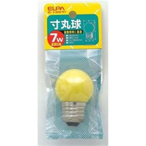 寸丸球2C 7W 黄 G−13H(Y) E26