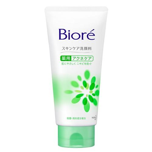 花王 ビオレスキンケア洗顔料 薬用アクネケア 130g