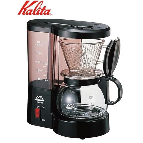 Kalita(カリタ) コーヒーメーカー ET-102(ブラック) 41005 0944674