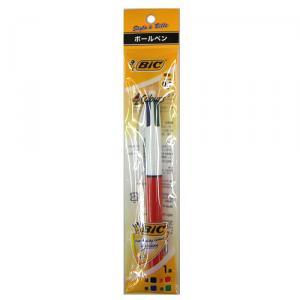 BIC4色ボールペン 4C07-1P