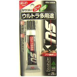 コニシ(Konishi)  ウルトラ多用途SU ブラック 25ml