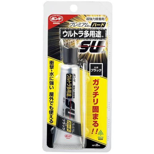コニシ(Konishi)  ウルトラ多用途SUPハード ブラック 25ml