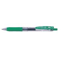 耐水性ゲルインクボールペン サラサクリップ 0.5mm 緑 340960