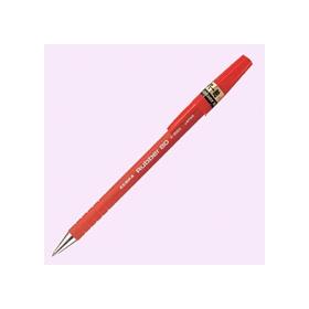 油性ボールペン ラバー80 0.7mm 赤 341729