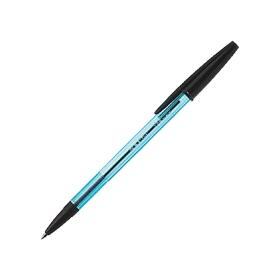 油性ボールペン ニュークリスタルケアS 0.7mm 黒 340776