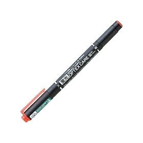 蛍光ペン 蛍光オプテックスケア 赤 WKCR1−R 340454