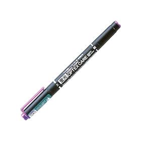 蛍光ペン 蛍光オプテックスケア 紫 WKCR1−PU 340455