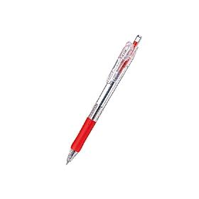 油性ボールペン タプリクリップボールペン 0.5mm 赤 343192