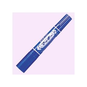 油性ペン ハイマッキー(太・細両用) 青 341224